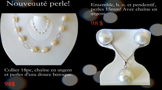 Nouveauté Perle!