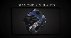 Diamond simulants